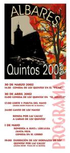 programaquintos2003